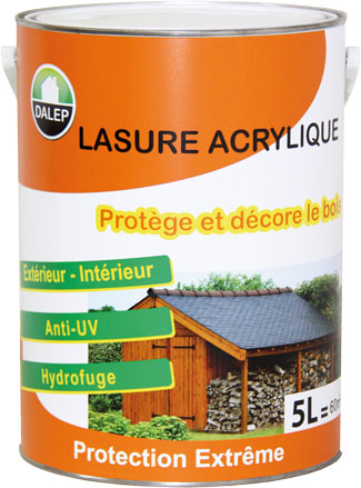 LASURE ACRYLIQUE INCOLORE