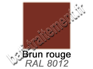 Coloris brun rouge du Protect RF