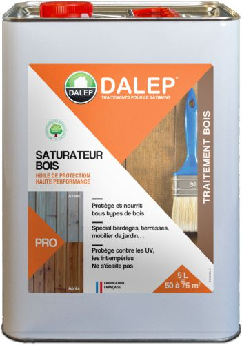 SATURATEUR BOIS - Huile de Protection Haute Performance