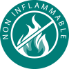 Non inflammable