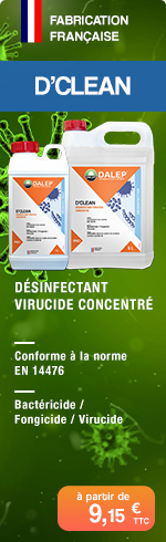 D'CLEAN - Désinfectant Virucide Concentré
